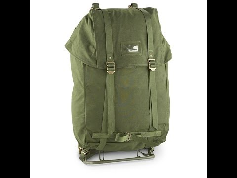 Military Surplus Score - Swedish Military 35L Rucksack with Steel Frame - The Outdoor Gear Review