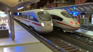 HO Station Diorama DB ② - ICE, High Speed Trains