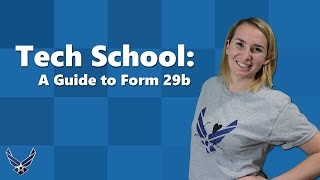 What is a Form 29b and Why is it Important to me? [An Air Force Wife Guide to Form 29b]