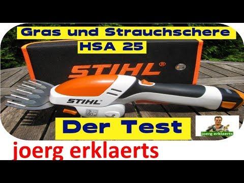 Akku Grasschere HSA 25 von Stihl im Test...Tutorial...Nr.115