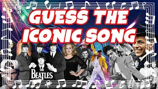 [GUESS THE SONG QUIZ] Iconic Songs Edition - Difficulty 🔥 - Best songs ever?