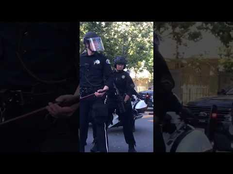 The Police Are The Outside Agitators