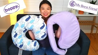 Boppy VS My Brest Friend - Product Review