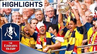 Arsenal 4-0 Aston Villa  - 2015 FA Cup Final | Goals & Highlights - dooclip.me