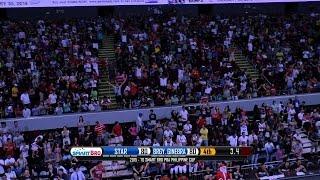 Never Say Die on Display | Philippine Cup 2015-2016