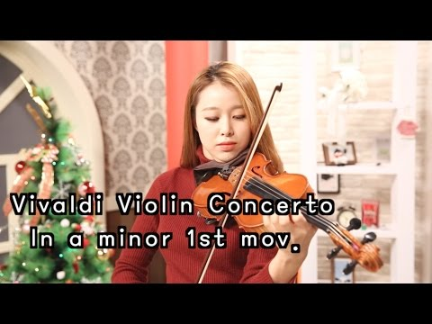 Vivaldi violin Concerto in a minor 1st mov._Suzuki violi