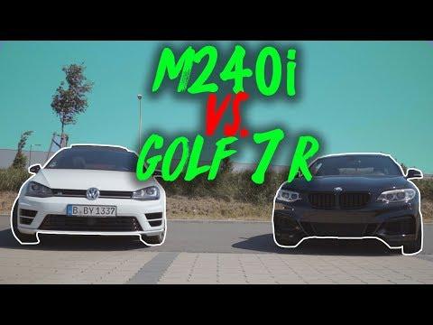 BMW M240i vs VW Golf 7R - Das sind unsere Autos!