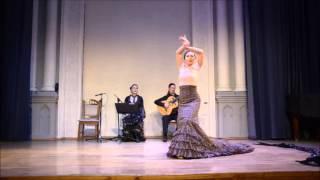 """Елена Пяткина и """"Тирити-тран"""". Фламенко в Доме актера. Flamenco, Kiev"""