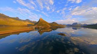 Lofoten Fredvang bridges, Norway | Cinematic FPV