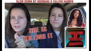 NORMANI X CALVIN HARRIS  SLOW DOWN |REACTION|