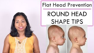 Tips to Ensure Round Head Shape in Babies | Prevention of Flat Head