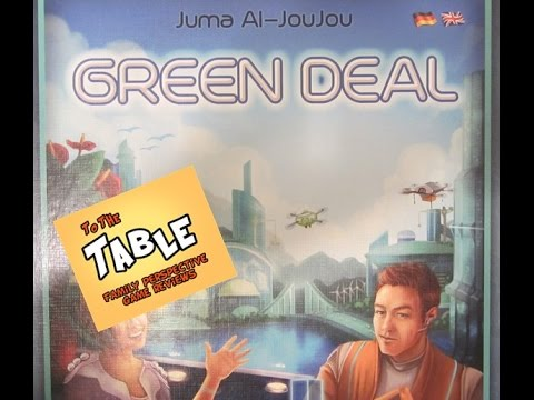 To The Table: Green Deal Game Review