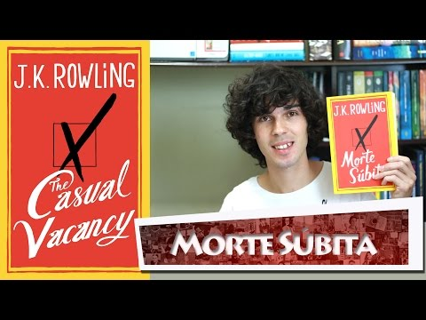 Livro Morte Súbita ( The Casual Vacancy )