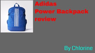 Adidas 3-stripes power backpack(Medium) review