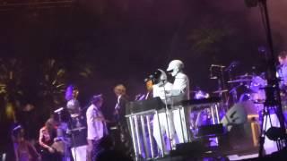 Arcade Fire - Get Lucky (Daft Punk / Paft Dunk) / Normal Person (Coachellal, Indio CA 4/20/14)