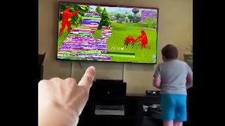 little kid hacks fortnite...then this happens