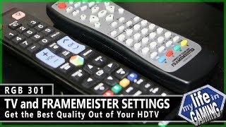 RGB301 :: TV & Framemeister Settings