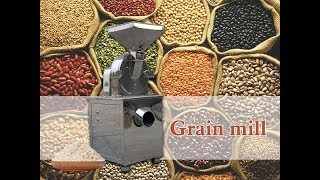 Electric Grain Mill Grinder   Flour Milling Machine youtube video