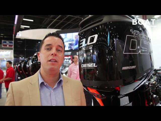 Mercury 3.0 Diesel motor de popa - Boat Review
