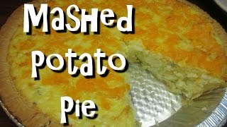 How To Make Mashed Potato Pie ~ Leftover Mashed Potatoes Recipe