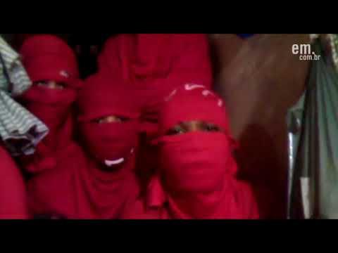 Presos mandam recado, via celular, dentro do Presídio de Barbacena