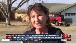 Tehachapi man blames Russian mind control for stabbing his mom 42 times