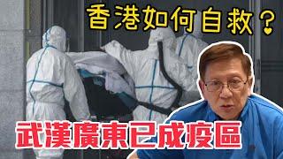 武漢廣東已成疫區 10小時增加過百宗确诊病例 疫區應該點做?香港如何自救?〈蕭若元:蕭氏新聞台〉2020-01-22