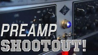 The Ultimate Preamp Shootout