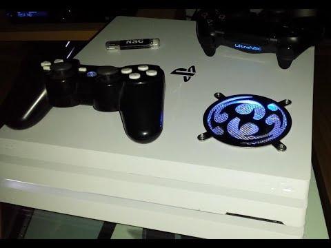 My PS4 Pro cooling mod V1 2 noise test @ God of War, Map test