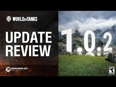 Update 1.0.2 Review - New Tier X Soviet Tanks & More