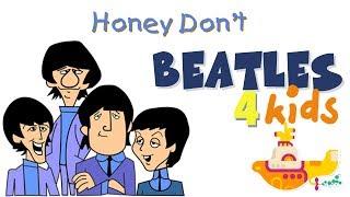 Beatles Cartoon - Honey Don't (Dublado)