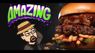 Baby Back Rib Thickburger - HARDEE'S/CARL'S JR. (parking lot review)