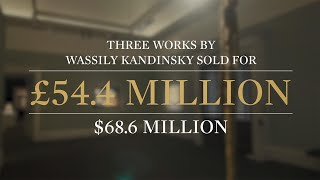 Bidding Battles Break Kandinsky Record…Twice in One Night