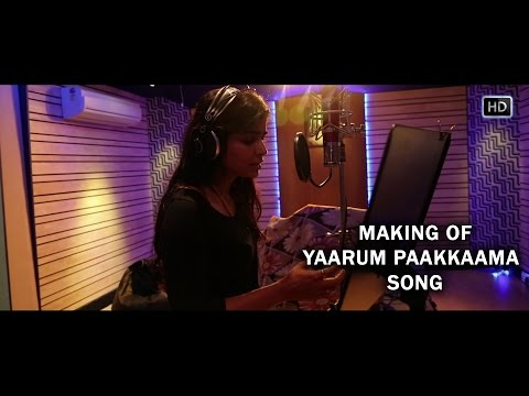 Making of Yaarum Paakkaama | Nerungi Vaa Muthamidathe | Chinmayi | Madley Blues