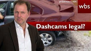 Sind illegale Dashcam-Aufnahmen vor Gericht zulässig? - BGH-Grundsatzurteil   RA Solmecke