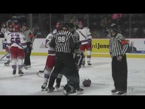 Will Cuylle vs. Donovan Sebrango