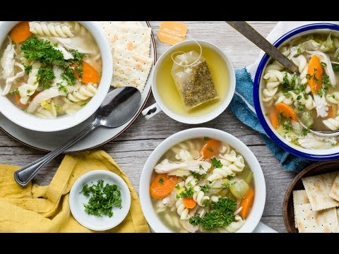 Video Slow Cooker Chicken Noodle Soup - Healthy Recipes - Weelicious