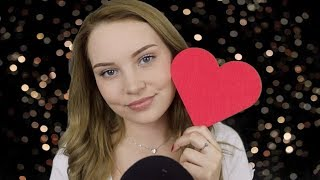 ASMR Red Triggers ❤️ Tapping and Scratching ❤️