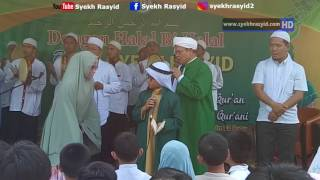 Jamaah Terharu Mendengar Doa Syekh Rasyid ( Part 3 )