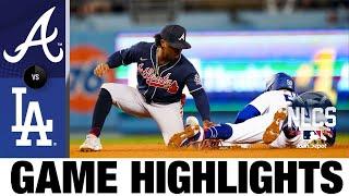 Braves vs. Dodgers NLCS Game 5 Highlights (10/21/21) | MLB Highlights