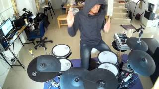 Dope -   Burn Electric Drum cover by Neung
