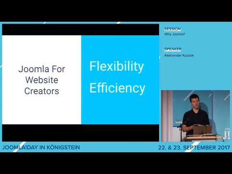 JD17DE - Why Joomla?