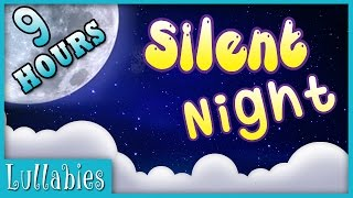 Lullabies for Babies to go to Sleep | 9 Hours Christmas Song Silent Night | Music for Babies
