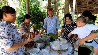 Anh Nam ở Đồng Tháp xuống thăm Bến Tre - Hương vị đồng quê - Bến Tre