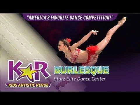 """""""Burlesque"""" from Starz Elite Dance Center"""