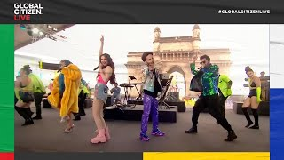 Anil Kapoor Introduces Opening Performance by Tanishk Bagchi in Mumbai | Global Citizen Live
