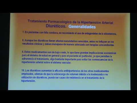 Fármacos para el tratamiento de la hipertensión en las personas de edad