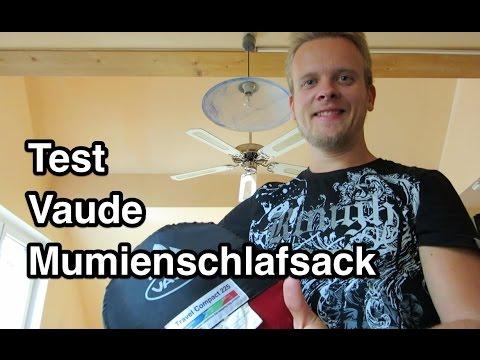 Test Vaude Schlafsack | Mumienschlafsack Test | Schlafsack Test