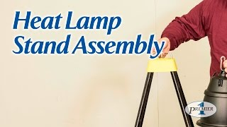 Heat Lamp Stand Assembly
