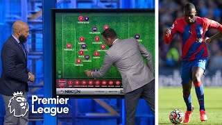 Crystal Palace's plan of attack under Patrick Vieira | Premier League Tactics Session | NBC Sports
